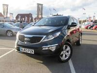 2013 Kia Sportage 1.7 CRDi ISG 2 5 door Diesel Estate