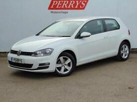 2014 Volkswagen Golf 1.6 TDI 105 Match 3 door Diesel Hatchback