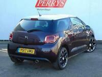 2017 Citroen DS3 1.2 PureTech Elegance 3 door EAT6 Petrol Hatchback