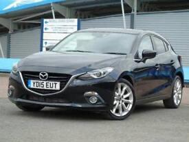 2015 Mazda 3 2.2d Sport Nav 5 door Auto Diesel Hatchback