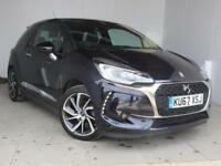 2018 Citroen DS3 1.6 BlueHDi 120 Prestige 3 door Diesel Hatchback