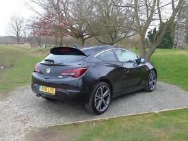 2016 Vauxhall Astra GTC 1.4T 16V 140 Limited Edition 3 door Petrol COUPE