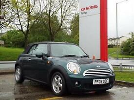 2009 MINI Cooper 1.6 Cooper 2 door Petrol Convertible