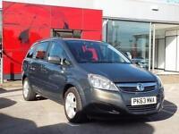 2013 Vauxhall Zafira 1.8i [120] Exclusiv 5 door Petrol People Carrier