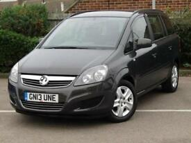 2013 Vauxhall Zafira 1.6i [115] Exclusiv 5 door Petrol People Carrier