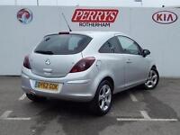 2012 Vauxhall Corsa 1.4 SXi 3 door [AC] Petrol Hatchback