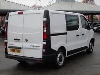 2016 Vauxhall Vivaro 2900 1.6CDTI BiTurbo 125PS H1 DoubleCab Diesel Van