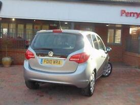2010 Vauxhall Meriva 1.4i 16V Exclusiv 5 door Petrol Estate
