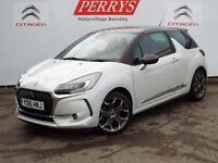 2016 Citroen DS3 1.6 BlueHDi 120 Ultra Prestige 3 door Diesel Hatchback