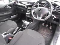 2013 Citroen DS3 1.6 VTi 16V DStyle Plus 3 door Petrol Hatchback