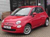 2016 Fiat 500 1.2 Pop Star 3 door Petrol Hatchback