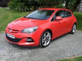 2014 Vauxhall Astra 1.6i 16V Limited Edition 5 door [Leather] Petrol Hatchback
