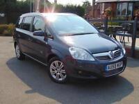 2009 Vauxhall Zafira 1.6i Design 5 door Petrol People Carrier