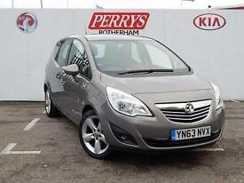 2013 Vauxhall Meriva 1.4i 16V Tech Line 5 door Petrol Estate
