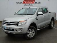 2015 Ford Ranger Pick Up Double Cab Limited 2.2 TDCi 150 4WD Auto Diesel Van