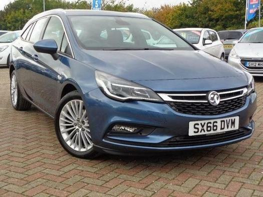 2017 Vauxhall Astra 1.4T 16V 150 Elite 5 door Auto Petrol Estate