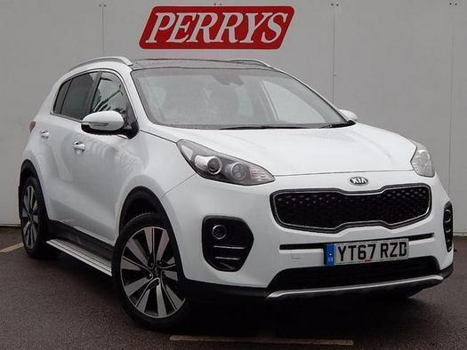 2017 Kia Sportage 1.7 CRDi ISG 3 5 door DCT Auto [Panoramic Roof] Diesel Estate