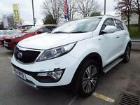 2014 Kia Sportage 2.0 CRDi KX-3 5 door Diesel Estate