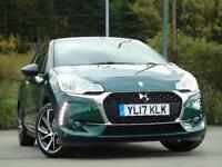 2017 Citroen DS3 1.2 PureTech Connected Chic 3 door Petrol Hatchback