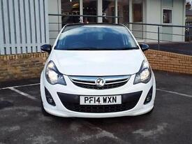 2014 Vauxhall Corsa 1.2 Limited Edition 3 door Petrol Hatchback