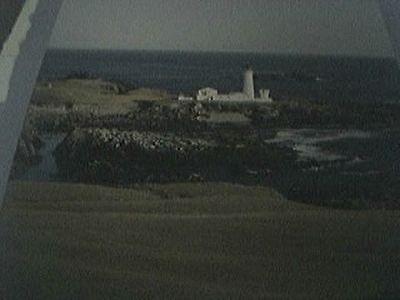 book pictures reprint 2003 - southern lighthouse fair isle scotland stevenson fa