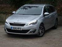 2016 Peugeot 308 SW 1.6 BlueHDi 120 Allure 5 door Diesel Estate
