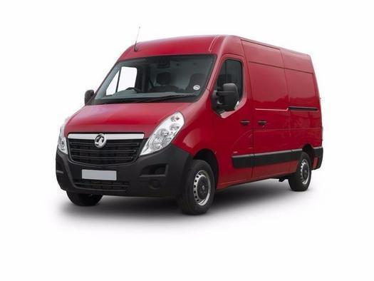 Vauxhall Movano 2.3 CDTI BiTurbo H2 Van 170ps Tecshift Diesel