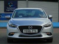2017 Mazda 3 2.2d Sport Nav 4 door [Leather] Diesel Saloon