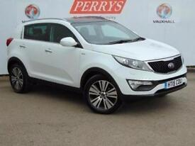 2015 Kia Sportage 2.0 CRDi KX-4 5 door Diesel Estate