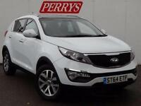 2014 Kia Sportage 1.7 CRDi ISG 2 5 door Diesel Estate
