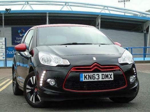 2013 Citroen DS3 1.6 VTi 16V DStyle Red 3 door Petrol Hatchback