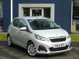 2014 Peugeot 108 1.0 Active 5 door [Start Stop] Petrol Hatchback