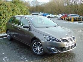 2015 Peugeot 308 SW 1.6 BlueHDi 120 Allure 5 door Diesel Estate