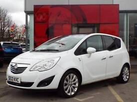 2012 Vauxhall Meriva 1.4T 16V [140] SE 5 door Petrol Estate