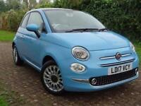 2017 Fiat 500 1.2 Lounge 3 door Petrol Hatchback