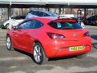 2015 Vauxhall Astra GTC 1.4T 16V Limited Edition 3 door Petrol COUPE