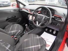 2015 Vauxhall Corsa 1.4T [100] SRi Vx-line 3 door Petrol Hatchback