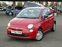 2014 Fiat 500 1.2 Pop 3 door [Start Stop] Petrol Hatchback
