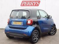 2017 Smart ForTwo Coupe 1.0 Prime Premium 2 door Auto Petrol Coupe