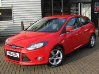 2014 Ford Focus 1.6 TDCi 115 Zetec Navigation 5 door Diesel Hatchback