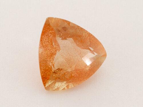 4.3ct Peach Standard Trilliant Oregon Sunstone (ES924)