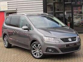 2016 SEAT Alhambra 2.0 TDI CR Ecomotive FR Line [150] 5 door Diesel People Carri