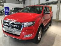 2016 Ford Ranger Pick Up Double Cab Limited 2 2.2 TDCi Diesel Double Cab Pick-up