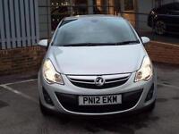 2012 Vauxhall Corsa 1.3 CDTi [95] ecoFLEX SE 3 door Diesel Hatchback