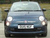 2015 Fiat 500 1.2 Pop 3 door [Start Stop] Petrol Hatchback