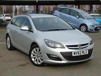 2012 Vauxhall Astra 1.7 CDTi 16V ecoFLEX 130 Tech Line 5 door [SS] Diesel Estate
