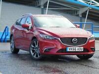 2016 Mazda 6 2.2d [175] Sport Nav 5 door Auto Diesel Estate