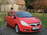 2010 Vauxhall Corsa 1.2i 16V Energy 5 door Petrol Hatchback