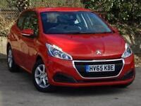 2015 Peugeot 208 1.2 PureTech 82 Active 3 door Petrol Hatchback