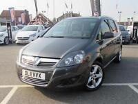 2011 Vauxhall Zafira 1.8i SRi 5 door Petrol People Carrier